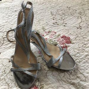 Shoes - Silver strapped sandels